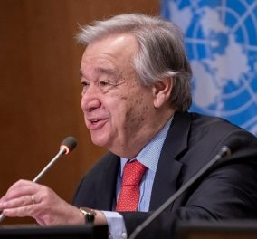 Γενικός Γραμματέας ΟΗΕ Γκουτέρες: «Ο πλανήτης έγινε ένα περίεργο παζλ με Κίνα & ΗΠΑ - ας αποφύγουμε τον Ψυχρό Πόλεμο» (βίντεο) - Κυρίως Φωτογραφία - Gallery - Video