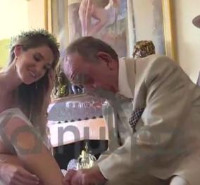 Ο Ηλίας Μαμαλάκης πάντρεψε την κόρη του Ευγενία - Ο παραμυθένιος γάμος & τα βαφτίσια του εγγονιού του (βίντεο)  - Κυρίως Φωτογραφία - Gallery - Video