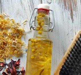 Τα βότανα που είναι κατάλληλα για κάθε τύπο μαλλιών – DIY συνταγή για θεραπεία στο σπίτι (βίντεο) - Κυρίως Φωτογραφία - Gallery - Video