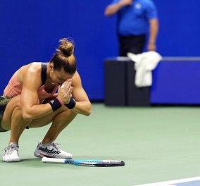Πάλεψε αλλά τελικά αποκλείσθηκε στα ημιτελικά του US Open η Μαρία Σάκκαρη - Ηττήθηκε με 2-0 (6-1, 6-4) σετ από την Έμα Ραντουκάνου (φωτό - βίντεο) - Κυρίως Φωτογραφία - Gallery - Video