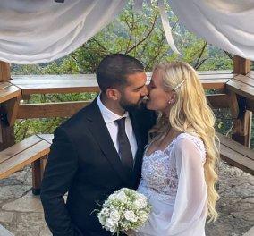 Τζούλια Νόβα - Μιχάλης Βιτζηλαίος: Το ερωτευμένο ζευγάρι παντρεύτηκε με πολιτικό γάμο - Λίγο πριν γίνουν γονείς (φωτό - βίντεο) - Κυρίως Φωτογραφία - Gallery - Video