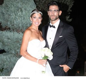 Ντύθηκε νυφούλα η Ελένη Χατζίδου! Όλες οι φωτό από τον γάμο της με τον Ετεοκλή Παύλου - υπέροχο νυφικο, εντυπωσιακά κοσμήματα  - Κυρίως Φωτογραφία - Gallery - Video