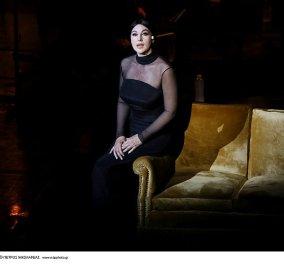 Μόνικα Μπελούτσι: Μάγεψε ως Μαρία Κάλλας στο Ηρώδειο -  Μπακογιάννης και Ιμάμογλου στην παράσταση (φωτό - βίντεο) - Κυρίως Φωτογραφία - Gallery - Video