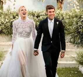Ti amo: 3 χρόνια γάμου! Η Κιάρα Φεράνι το γιορτάζει - ας ξεφυλλίσουμε το άλμπουμ της πιο ευτυχισμένης μέρας της ζωής της (φωτό & βίντεο) - Κυρίως Φωτογραφία - Gallery - Video