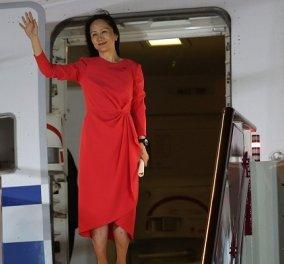 Μια «πριγκίπισσα», η κόρη του Mr Huawei, υπο κράτηση για 1.033 ημέρες - το βραχιολάκι & το θρίλερ με τις κατηγορίες (φωτό & βίντεο) - Κυρίως Φωτογραφία - Gallery - Video