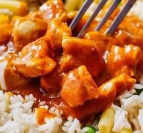 Κοτόπουλο με σάλτσα πορτοκαλιού από τον Δημήτρη Σκαρμούτσο - ένα νόστιμο πιάτο που σερβίρεται με ρύζι ή κινόα  - Κυρίως Φωτογραφία - Gallery - Video