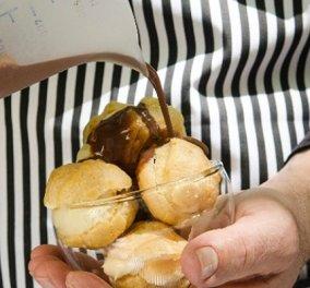 Συνταγή για πεντανόστιμο light προφιτερόλ από τον Στέλιο Παρλιάρο - Το αγαπημένο μας γλυκό με πολύ λιγότερα λιπαρά! - Κυρίως Φωτογραφία - Gallery - Video