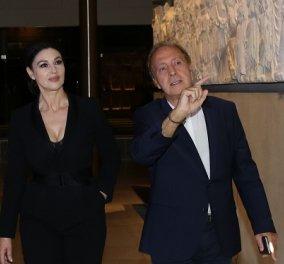 Η νυχτερινή ξενάγηση της Μόνικας Μπελούτσι από τον Γενικό Διευθυντή του Μουσείου της Ακρόπολης Νίκο Σταμπολίδη (φωτό) - Κυρίως Φωτογραφία - Gallery - Video