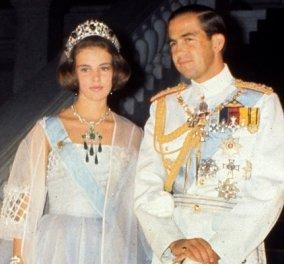 57η επέτειος γάμου για τον τέως βασιλιά Κωνσταντίνο και την Άννα Μαρία - Το εξώφυλλο στο Point de Vue (φωτό & βίντεο) - Κυρίως Φωτογραφία - Gallery - Video