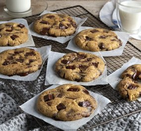 Άκης Πετρετζίκης: Γρήγορα και λαχταριστά soft cookies - Απολαύστε τα για πρωινό  - Κυρίως Φωτογραφία - Gallery - Video
