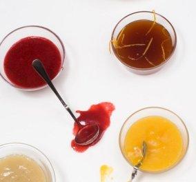 Σάλτσες φρούτων από τον Στέλιο Παρλιάρο: Κονιάκ - ρούμι - πορτοκάλι, μήλο - μπανάνα ή μάνγκο - θα θέλετε να τις φτιάξετε όλες - Κυρίως Φωτογραφία - Gallery - Video