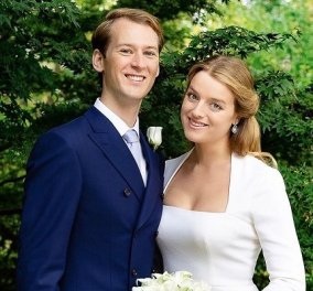 Ντύθηκε ξανά νύφη η Flora Ogilvy: Φωτό & βίντεο από την βασιλική τελετή στο παλάτι του St James - το υπέροχο φόρεμα, οι royal καλεσμένοι - Κυρίως Φωτογραφία - Gallery - Video