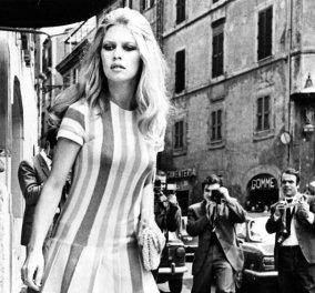 """Σπάνιες Vintage Pics: Η  Brigitte Bardot στα γυρίσματα της ταινίας """" Les Femmes"""" - Το αιώνιο σύμβολο του σεξ σε 34 υπέροχες πόζες  - Κυρίως Φωτογραφία - Gallery - Video"""