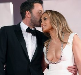 Η ζωή είναι ωραία για τον Ben Affleck και την Jennifer Lopez: Νέα red carpet εμφάνιση - τα φιλιά στο στόμα, οι αγκαλιές (φωτό & βίντεο) - Κυρίως Φωτογραφία - Gallery - Video
