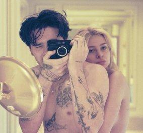 Tρελά ερωτευμένος ο Brooklyn Beckham: Φωτογραφίζει την αρραβωνιαστικιά του Nicola, γυμνή - ''Η γυναίκα μου για μια ζωή'' - Κυρίως Φωτογραφία - Gallery - Video
