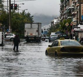 """Η κακοκαιρία """"Μπάλλος"""" επελαύνει στην Ελλάδα - Εικόνες Αποκάλυψης με κατολισθήσεις - πλημμύρες & εγκλωβισμένους πολίτες- """"Μας περιμένει δύσκολο διήμερο """" (φώτο-βίντεο) - Κυρίως Φωτογραφία - Gallery - Video"""