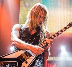 Από θαύμα σώθηκε ο κιθαρίστας των Judas Priest- Παραλίγο να πεθάνει την ώρα που έπαιζε στη σκηνή (φώτο-βίντεο) - Κυρίως Φωτογραφία - Gallery - Video