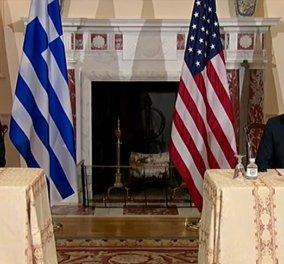 Υπεγράφη στην Ουάσινγκτον η Αμυντική Συμφωνία Ελλάδας – Ηνωμένων Πολιτειών - Live οι δηλώσεις Δένδια - Μπλίνκεν  - Κυρίως Φωτογραφία - Gallery - Video