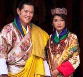 Ο βασιλιάς του Μπουτάν & η όμορφη σύζυγος του γιορτάζουν τη 10η επέτειο τους - Ας θυμηθούμε τον παραμυθένιο  γάμο που κράτησε τρεις μέρες (φώτο) - Κυρίως Φωτογραφία - Gallery - Video