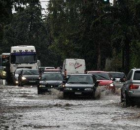 Μήνυμα του 112: Αποφύγετε άσκοπες μετακινήσεις, περιοχές που έχουν ή μπορεί να πλημμυρίσουν - Ακραία καιρικά φαινόμενα στην Αττική  - Κυρίως Φωτογραφία - Gallery - Video