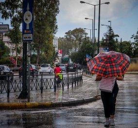 Καιρός: Βροχές και ισχυροί άνεμοι σήμερα Σάββατο - έως τους 27 βαθμούς η θερμοκρασία - Κυρίως Φωτογραφία - Gallery - Video