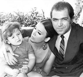 Συγκινητική Vintage Pic: Η Τζένη Καρέζη φιλάει τρυφερά τον Κωνσταντίνο Καζάκο μωρό - Πόση αγάπη χωράει σε ένα βλέμμα;  - Κυρίως Φωτογραφία - Gallery - Video