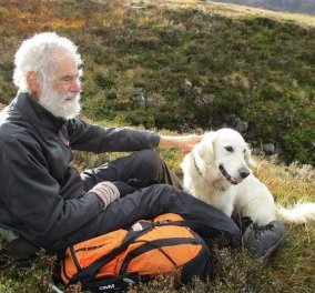 Ένας 81χρονος σε challenge να ανέβει τα ψηλότερα βουνά της Σκωτίας - Ξεκίνησε όταν αρρώστησε η γυναίκα του (φωτό & βίντεο) - Κυρίως Φωτογραφία - Gallery - Video