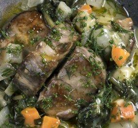 Γιάννης Λουκάκος: Χοιρινό φρικασέ με σέσκουλα, σελινόριζα και άνηθο - Τέλειο πιάτο για οικογενειακά τραπέζια  - Κυρίως Φωτογραφία - Gallery - Video
