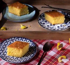 Αργυρώ Μπαρμπαρίγου: Μία παραδοσιακή συνταγή για αφράτο, σιροπιαστό ραβανί από τη Νάξο - Κυρίως Φωτογραφία - Gallery - Video