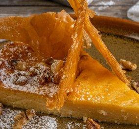 Γιάννης Λουκάκος: Μας φτιάχνει Γαλατόπιτα Μάνης - Ένα παραδοσιακό γλυκό, σκέτο απόλαυση - Κυρίως Φωτογραφία - Gallery - Video