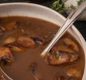 Γιάννης Λουκάκος: Συνταγή για σάλτσα με μανιτάρια και μαυροδάφνη - Θα συνοδέψει τέλεια πιάτα με κρέας ή ψάρι (βίντεο) - Κυρίως Φωτογραφία - Gallery - Video