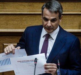 Κυρ. Μητσοτάκης: Η οικονομία και η κοινωνία δεν θα ξανακλείσουν - Η Ελλάδα βρίσκεται σε πολύ καλύτερη θέση από τον ευρωπαϊκό μέσο όρο - Κυρίως Φωτογραφία - Gallery - Video
