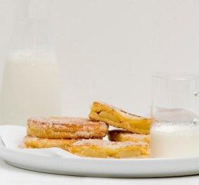 Στέλιος Παρλιάρος: Τηγανητά ψωμάκια με μήλο - μια πρόταση ιδανική για ένα σπέσιαλ κυριακάτικο πρωινό - Κυρίως Φωτογραφία - Gallery - Video
