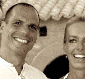 Ο Γιάνης Βαρουφάκης γαμπρός – Δείτε τη φωτογραφία του γάμου του με την Δανάη Στράτου! - Κυρίως Φωτογραφία - Gallery - Video