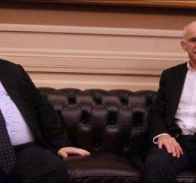 Μεγάλη έκπληξη: Δεν τα βρήκαν Βενιζέλος και Παπανδρέου... - Τι συζήτησαν οι 2 άνδρες; - Κυρίως Φωτογραφία - Gallery - Video