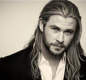 O πιο sexy άνδρας εν ζωή είναι ο Chris Hemsworth - Ξανθός, με μακρύ μαλλί σαν τον Χριστό, 35 χρονών! (φωτό) - Κυρίως Φωτογραφία - Gallery - Video