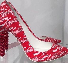 Light ή Zero; Τα Coca-Cola παπούτσια της Sofia Webster κάνουν θραύση! - Κυρίως Φωτογραφία - Gallery - Video