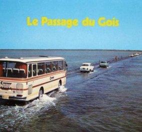 Passage du Gois - Ο πιο επικίνδυνος και απρόβλεπτος δρόμος στον κόσμο βρίσκεται στη Γαλλία - δεν είναι πάντα διαθέσιμος μιας και μπορεί να τον καταπιεί η θάλασσα! (φωτό)  - Κυρίως Φωτογραφία - Gallery - Video