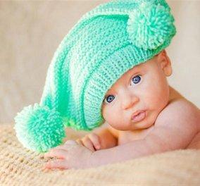 Φωτογραφία της ημέρας το μωράκι με σκουφί από το mother.gr - Κυρίως Φωτογραφία - Gallery - Video