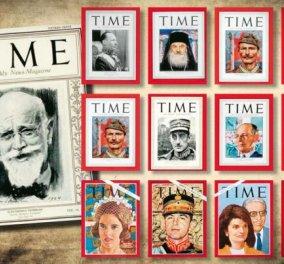 Ελ. Βενιζέλος, Μαρία Κάλλας, Γεώργιος Β', Μάρκος Βαφειάδης- Τα Ελληνικά εξώφυλλα στο Time-90 χρόνια Ιστορίας - Κυρίως Φωτογραφία - Gallery - Video