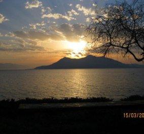 Ας κλείσουμε την ημέρα μας με τα δειλινά από τα Λουτρά Αιδηψού που μας έστειλε μία φίλη, η Ειρήνη Βονιτσάνου  - Κυρίως Φωτογραφία - Gallery - Video