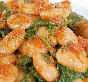 Αρχίζω το μαγείρεμα της Σαρακοστής: γίγαντες μούρλια με σπανάκι και ντομάτα αλλά και αβοκάντο με καβούρι για πιο στυλ στο τραπέζι σας! Δυο εξαιρετικά πιάτα! - Κυρίως Φωτογραφία - Gallery - Video