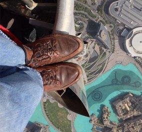 Σε παγκόσμια θέα με χιλιάδες tweets οι φωτογραφίες από την κορυφή του υψηλότερου ουρανοξύστη στο κόσμο - Ντουμπάι Burjkhalifa(εικόνες ) - Κυρίως Φωτογραφία - Gallery - Video