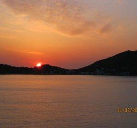 Ηλιοβασίλεμα στην Τέλενδο - Κάλυμνος (εικόνες) - Κυρίως Φωτογραφία - Gallery - Video