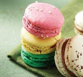 Να και η συνταγή από την Aργυρώ Μπαρμπαρίγου για ΄συγκλονιστικά΄ macarons - Κυρίως Φωτογραφία - Gallery - Video