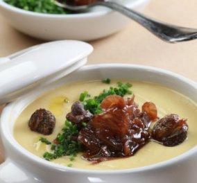 Φάβα με τηγανητή κάππαρη και καραμελωμένο κρεμμύδι-Όταν ο Γιάννης Λουκάκος έχει κέφια... - Κυρίως Φωτογραφία - Gallery - Video