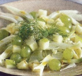 Σαλάτα με φινόκιο, πράσινο μήλο και σουλτανίνα - Μια χαρά διαιτούλα η πρόταση του Ηλία Μαμαλάκη  - Κυρίως Φωτογραφία - Gallery - Video