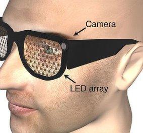 Hitech γυαλιά για μερικώς τυφλούς - Κυρίως Φωτογραφία - Gallery - Video