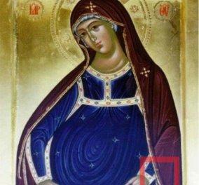 Δείτε την πιο σπάνια απεικόνιση της Παναγίας εγκύου - Φυλακτό για τις εγκυμονούσες! - Κυρίως Φωτογραφία - Gallery - Video