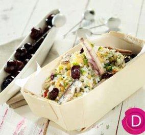 Ρυζοσαλάτα με λαχανικά  - Ένα πιάτο νόστιμο για να νηστέψετε με στυλ από την Ντίνα Νικολάου! - Κυρίως Φωτογραφία - Gallery - Video